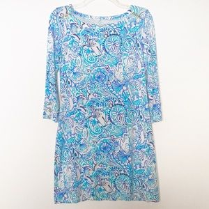 Lilly Pulitzer Sophie Lucky Trunks Dress Size S